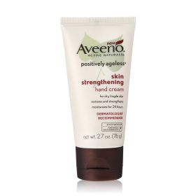 Aveeno Positively Ageless Skin Strengthening Hand Cream, 2.7 Ounce