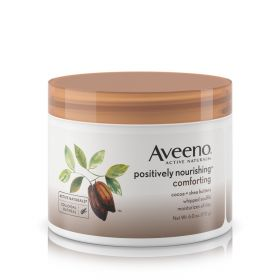 Aveeno Positively Nourishing Daily Moisturizer Comforting Whipped Soufflé, 6 oz.