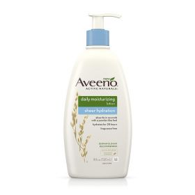 Aveeno Sheer Hydration Daily Moisturizing Lotion, 18 Oz.